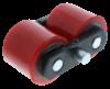 Obrazek Wózek paletowy ręczny TotalSource Premium, udźwig 2500kg, długość 900mm,