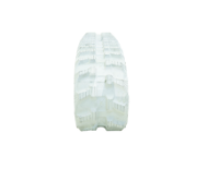 Obrazek Gąsienica gumowa biała (niebrudząca) 190x72x45