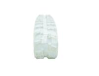 Obrazek Gąsienica gumowa biała (niebrudząca) 200x72x44