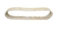 Obrazek Gąsienica gumowa biała (niebrudząca) 230x72x52