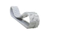 Obrazek Gąsienica gumowa biała (niebrudząca) 300x55x90