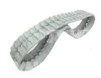 Obrazek Gąsienica gumowa biała (niebrudząca) 320x100x49