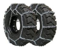 Obrazek Łańcuch śniegowy do wózka widłowego  600-9, grubość drutu 4,5mm - para